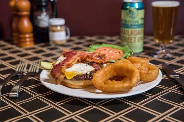 Bacon, Egg & Cheese Burger