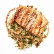 Grilled Asian Salmon & Quinoa
