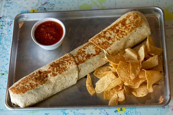 The Megalodon Burrito