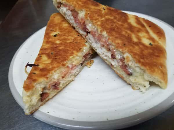 Turkey Bacon Cheddar Panini