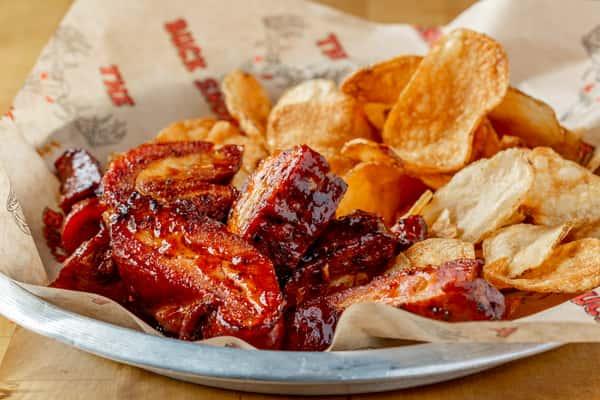 BBQ Pork Rib Tips