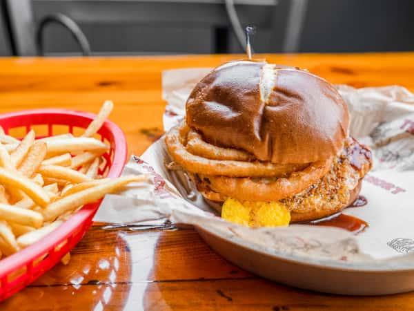 Cowboy Chicken Sandwich