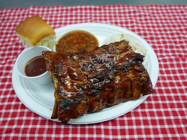 Pork Baby Back Rib Dinner