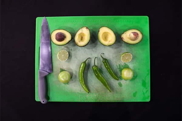jalapenos and avocados