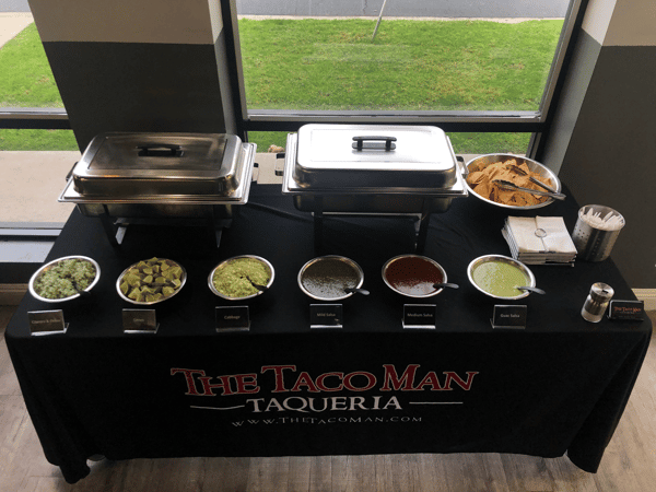 indoor catering table