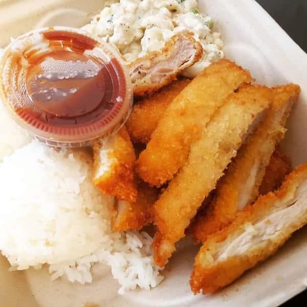 Katsu Chicken with Katsu Sauce