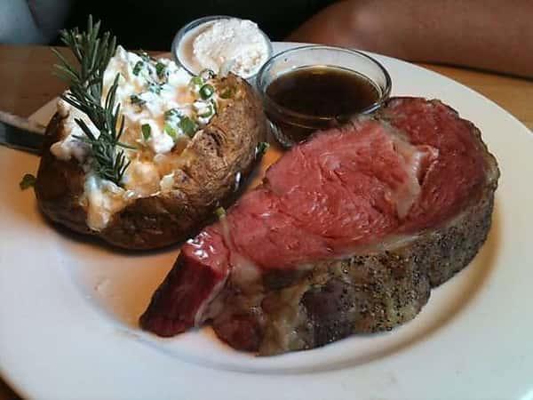 *Prime Rib of Beef Au Jus ( Friday - Sunday)