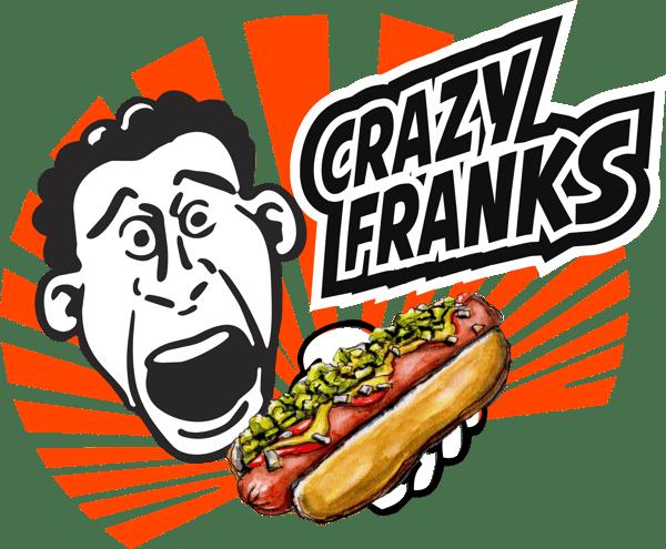 crazy franks logo