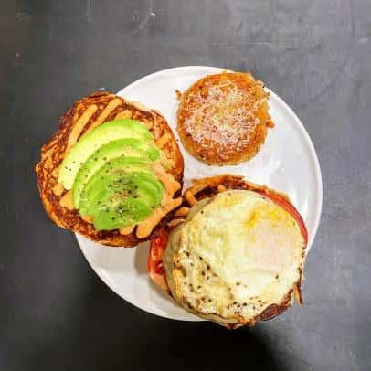 Moody Breakfast Sandwich
