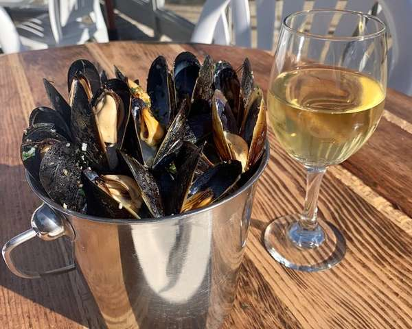 Bucket of Steamed Mussels 1 lb