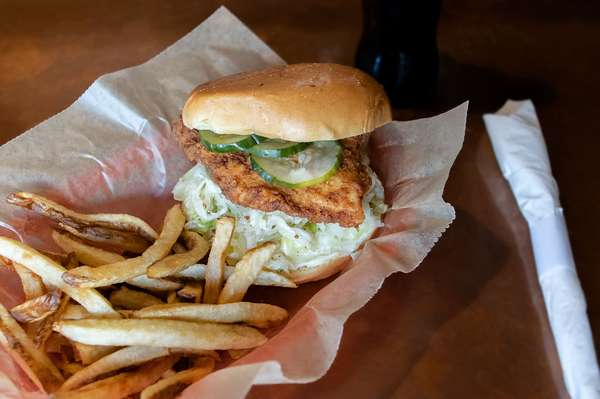 Famous Fried Chicken Sandwich