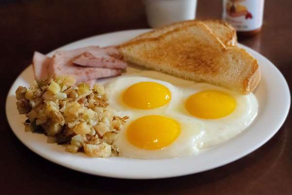 Square Sunrise Breakfast
