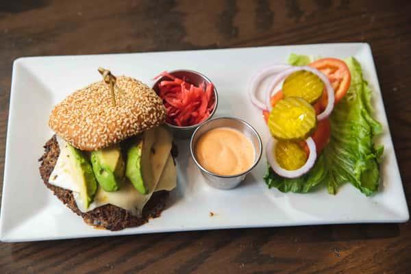 Black Bean & Quinoa Veggie Burger