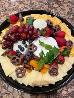Fancy Cheese and Fruit Platter