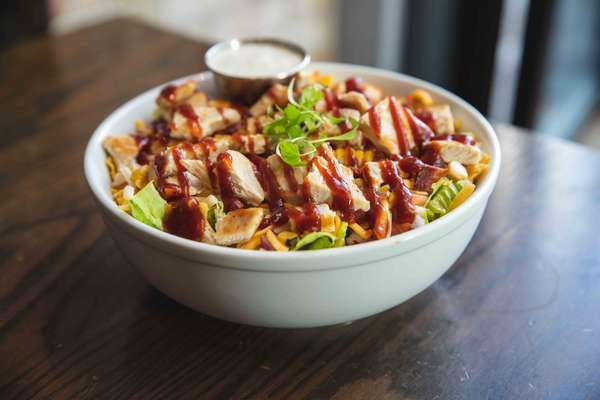Southern BBQ Chicken Chopped Salad
