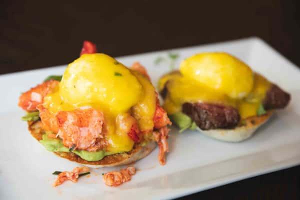 """Surf & Turf"" Steak & Lobster with Avocado"