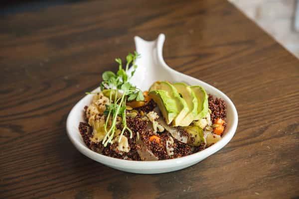Roasted Vegetable & Quinoa Breakfast Bowl
