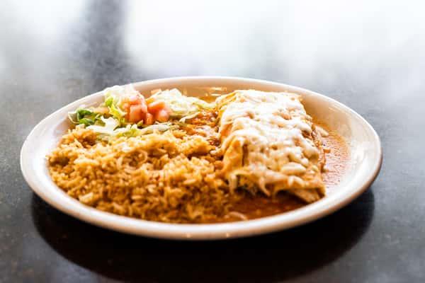 Chicken Enchilada Ranchera Dinner