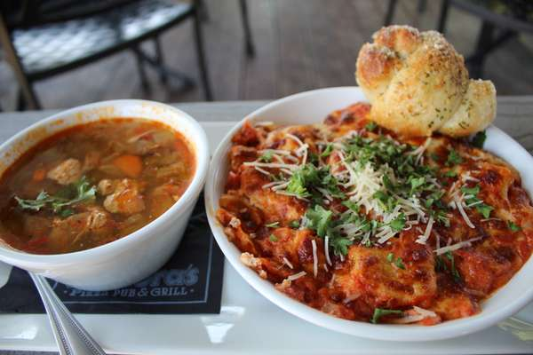 Soup OR Salad & Pasta Combo