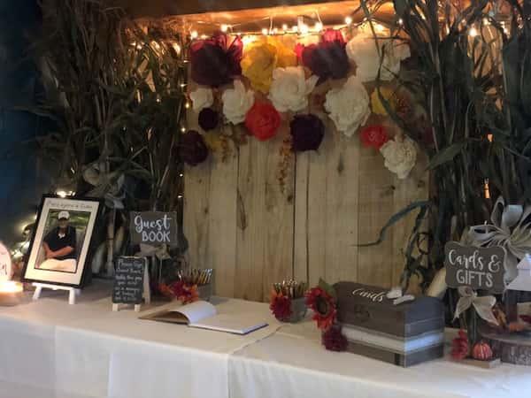 Fall Banquet Back Drop