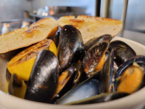 Sunday: 1 LB of Mussels