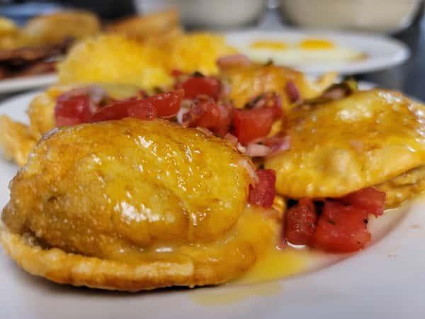 Breakfast Pierogi