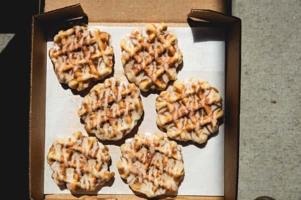 1/2 Dozen Smashed Waffles