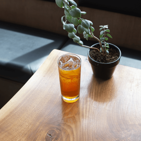 Iced Sparkling Lavender Rooibos Tea
