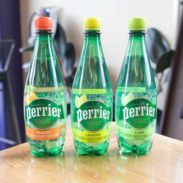 Flavored Perrier