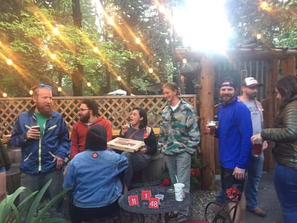 customers on patio