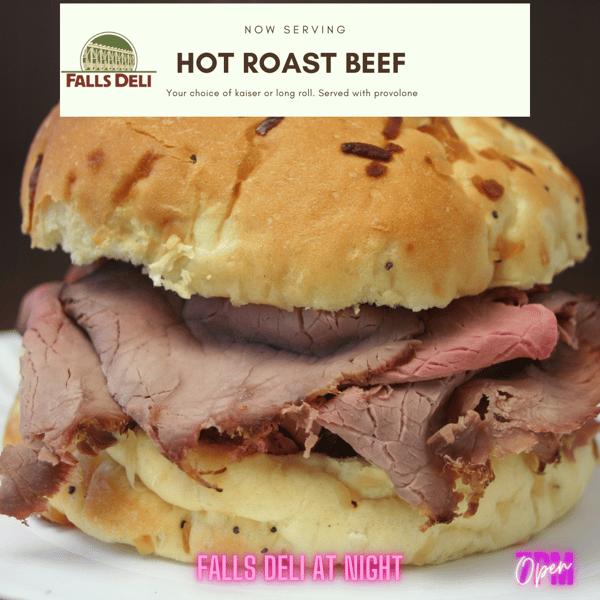 Roast Beef Now serving