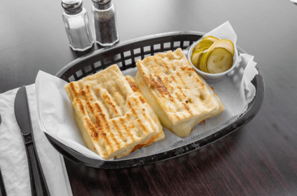 Hot & Spicy Grilled Cheese