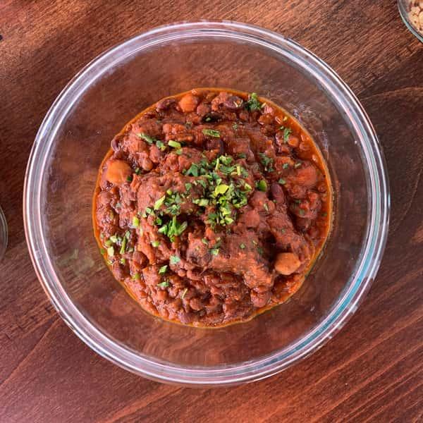 Three Bean & Durham Ranch Bison Chili