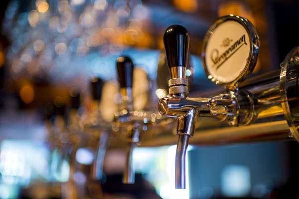 bar tap stock photo