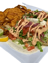 Jerk Grouper Taco