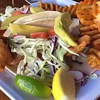 Key West Fried Grouper Taco