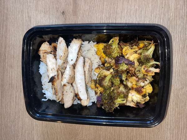 Grilled Chicken Meal To Go