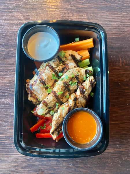 Buffalo Chicken Crudite