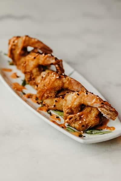 Cripsy Asian Shrimp