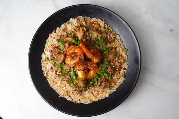 Crawfish Fried Rice