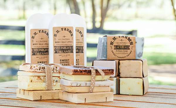 artisan lotions and soap