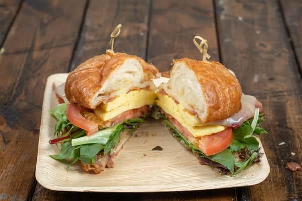 Goliath Bacon Breakfast Croissant