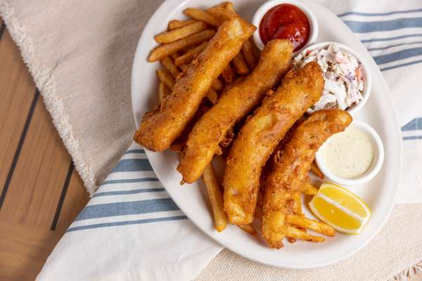 Ale Battered Fish and Chips