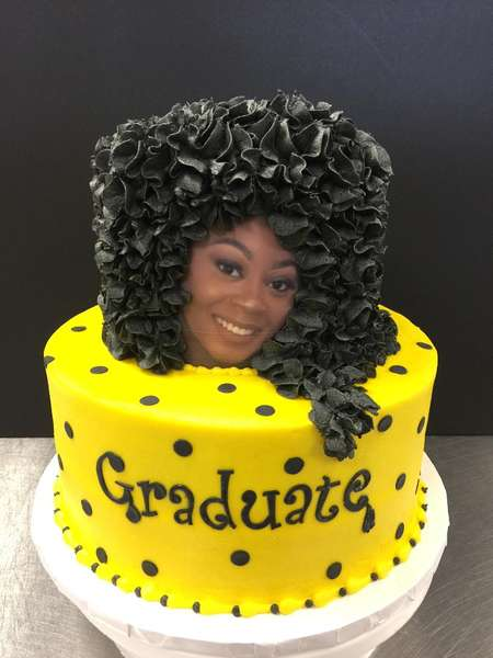 graduate party cake