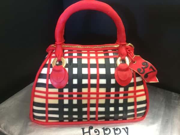 purse 3d party cake