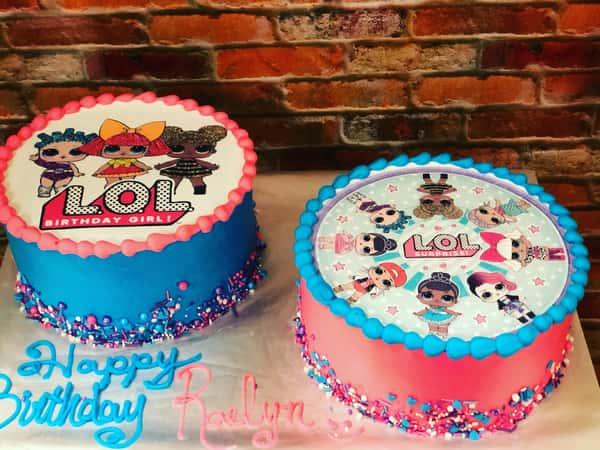 kids edible images cake