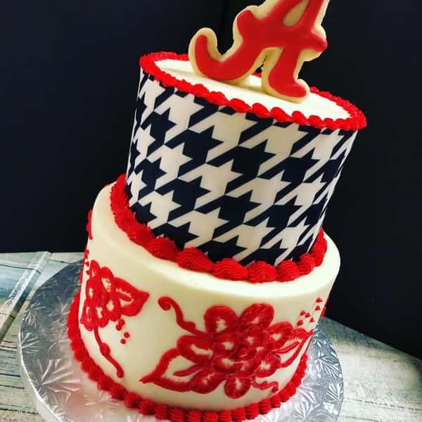 Alabama party cake