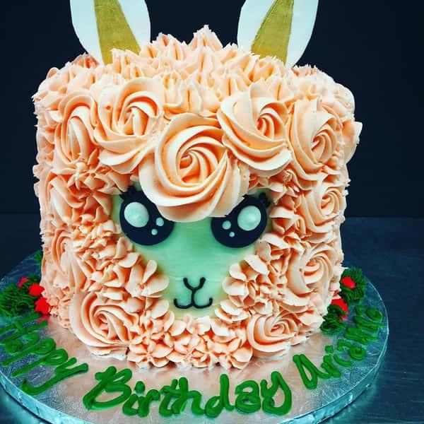 Lllama Cake