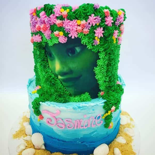 Disney fairy cake