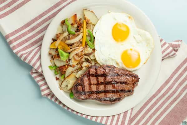 Chops OR Steak & Eggs